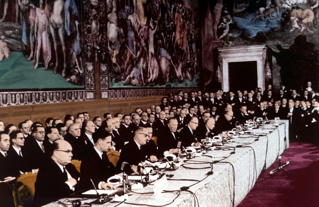 Unione Europea CEE Trattato Roma 1957